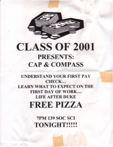 Duke University seminar (2001)